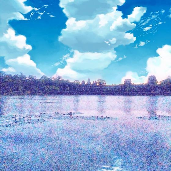 アンコール・ワット/日の出 - 2.jpg
